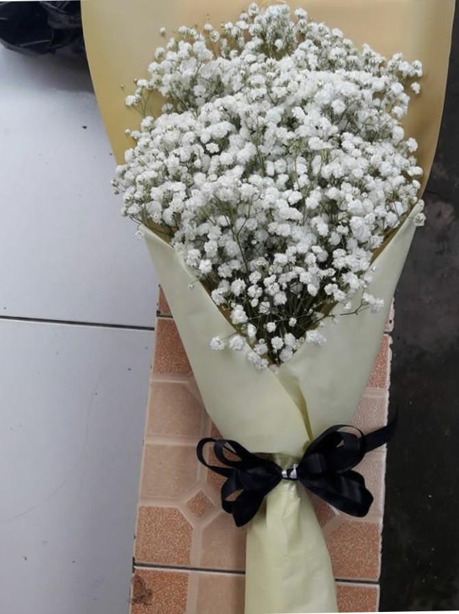 Jual Bunga Buket HB20 – Bunga Buket Putih