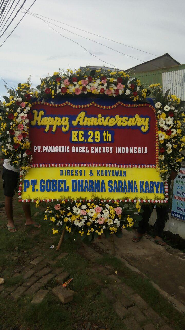 Jual Bunga Papan BP33 – Happy Anniversary