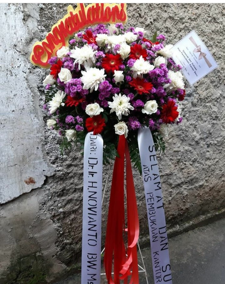 Jual Bunga Stand FB7 – Standing Flower Mini