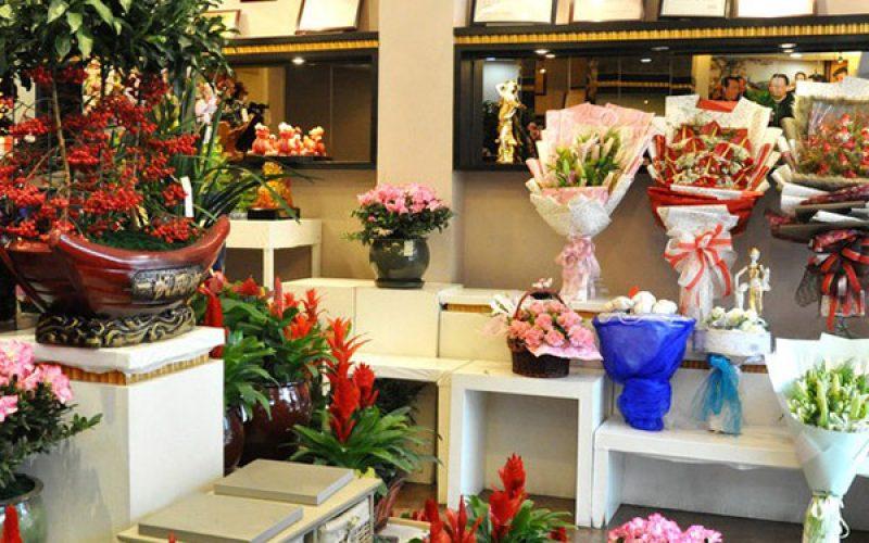 florist toko bunga papan